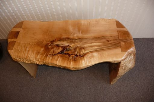 Custom Made Various Maple Bench - Dovetail