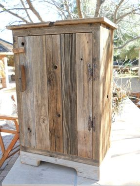 Custom Made Wooden Vanity Or Jelly Cabinet