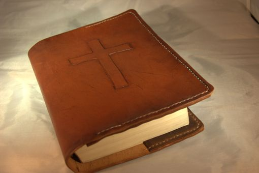 Custom Made Old Rugged Cross Bible Cover