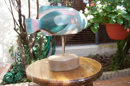 Custom Made Tropical Fish Sculpture