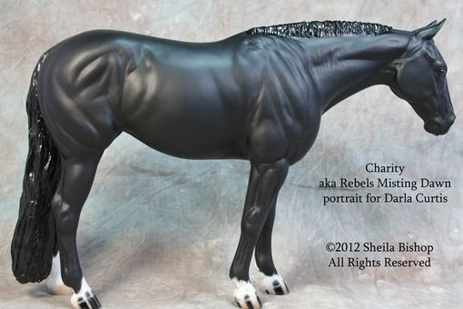 Custom Made Horse Portrait Sculptures By Sheila Bishop