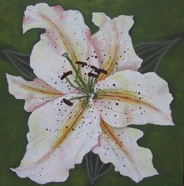 Custom Made White Lily