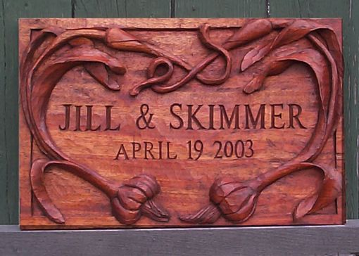 Custom Made Custom Commemorative Carvings