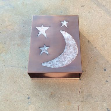 Custom Made The Moon & Stars In Copper