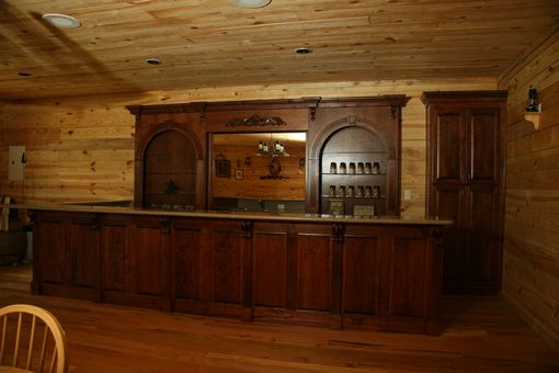 Custom Made Western Bar