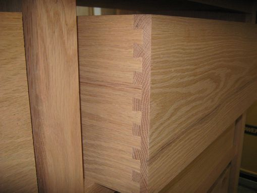 Custom Made Mision Style Chest From Red Oak