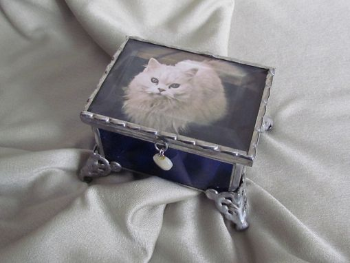 Custom Made Memorial Pet Box