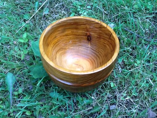 Custom Made Cedar Bowl