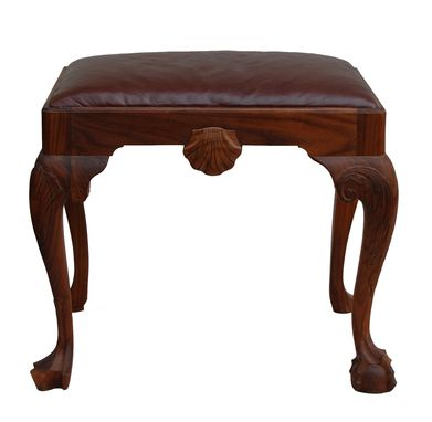 Custom Made Georgian Footstool