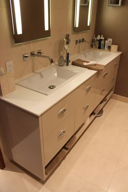 Custom Made Double Vanity