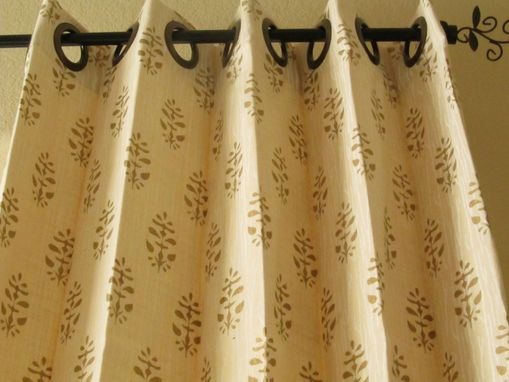 Custom Made Grommet Curtains For Clients