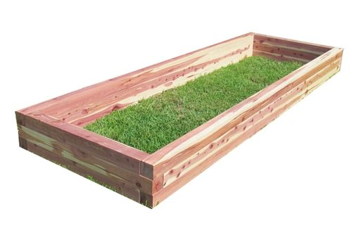 Custom Made Eastern Red Cedar Raised Garden Bed