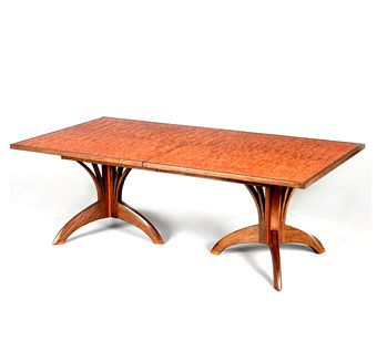 Custom Made Custom Wood Dining Table By Seth Rolland