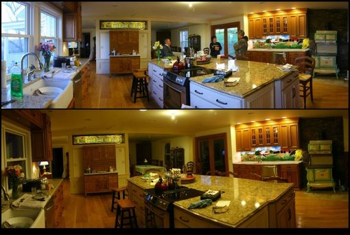 Custom Made Dairy Farm Kitchen
