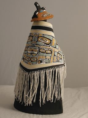 Custom Made Traditional Blanket Wrap Urn