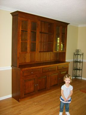 Custom Made Shaker Style Hutch