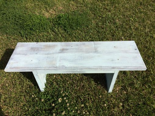 Custom Made Distressed Bench