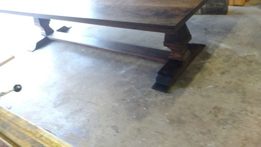 Custom Made Tuscan Pedestal Table In Cherry