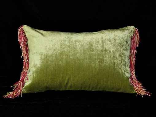 Custom Made Chateau: Flowering Pillow
