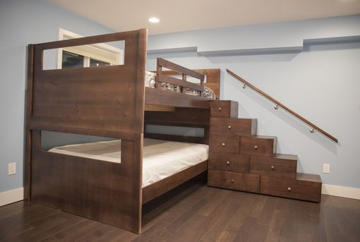 Custom Made Queen Over Queen Bunkbeds