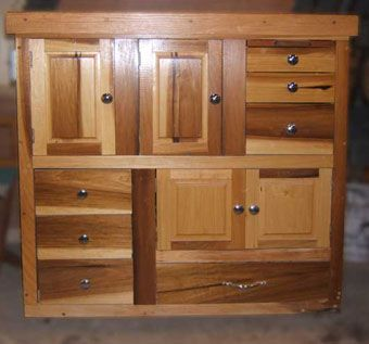 Handmade Poplar Shaker Style Utility Cabinet By B K S
