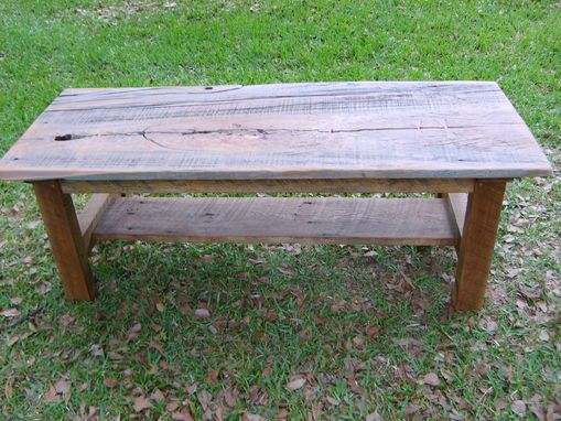 Rustic Cypress Coffee Table