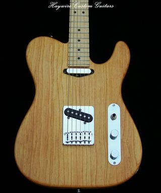 Custom Made Haywire Custom Guitars Inc. Custom Ash Telecaster Guitar