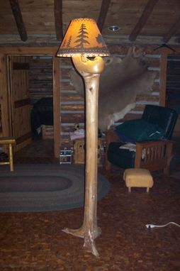 Custom Made Tree Floor Lamp
