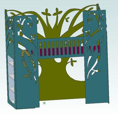 Custom Made Loft Bed Tree House -