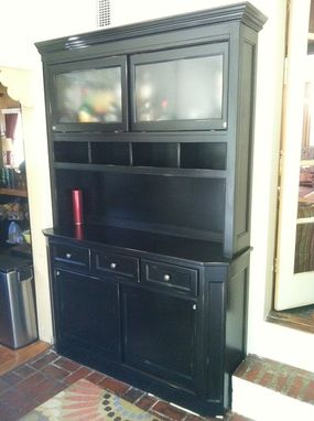 Custom Made Mud Room Hutch