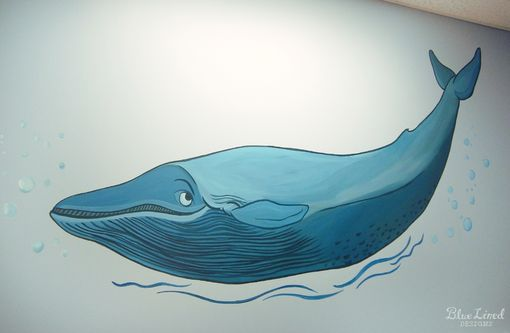 Custom Made Underwater Mural