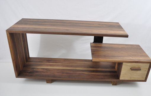 Custom Made Walnut Entertainment Console