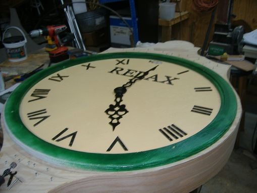Custom Made Big Outdoor Clock