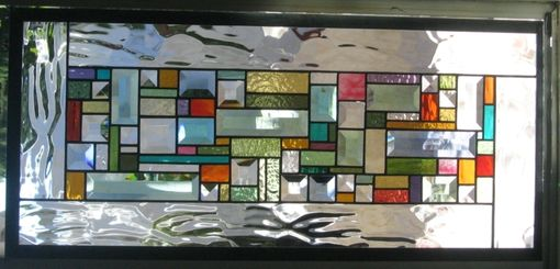 Custom Made Stained Glass Window Hanging