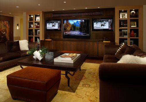 Custom Made Entertainment Center 1
