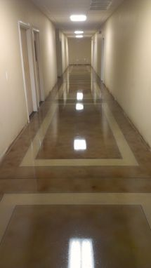 Custom Made Stained Hallway
