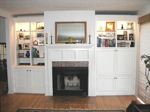 Custom Made Custom Fireplace Cabinets
