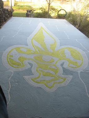 Custom Made Lsu Tiger Eye Fleur De Lis