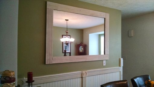 Custom Made Custom Reclaimed Wood Mirror
