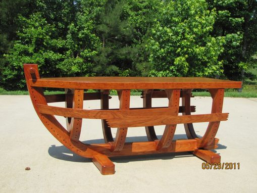 Boat Coffee Table - Hand Made Boat Coffee Table By LTL Wood Creations CustomMade.com