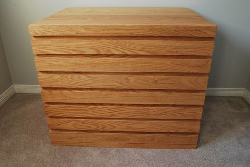Custom Made Oak Dresser