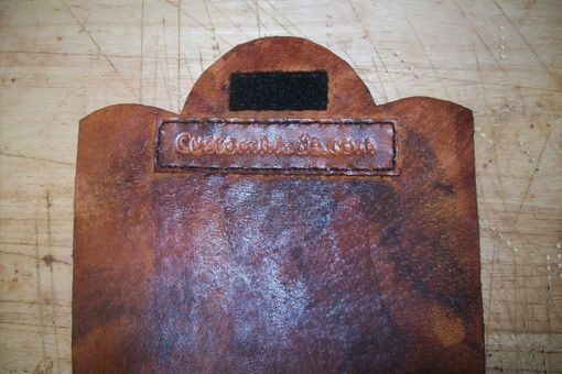 Custom Made Leather Ipad Sleeve