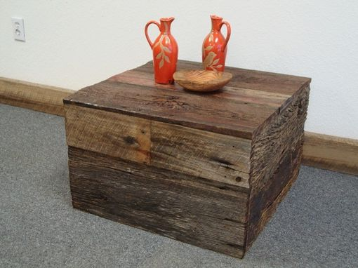 Custom Made Box Table