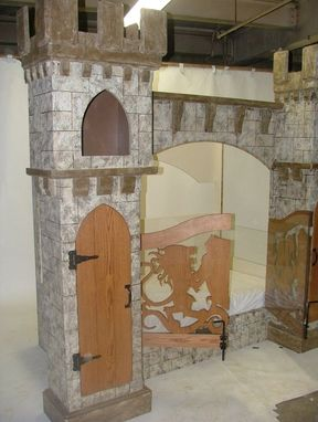 Custom Made Sean Vincent's Castle Bed