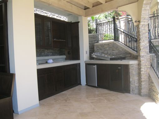 Custom Made Outdoor Custom Kitchen