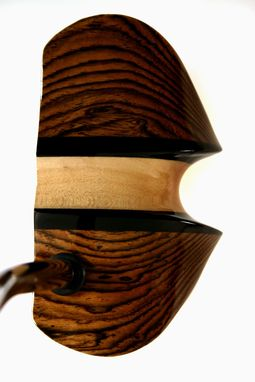 Custom Made Tigerwood With Ebony & Maple; Wingtip