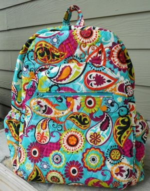 Custom Made Quilted Children's Backpack Or Travel Tote