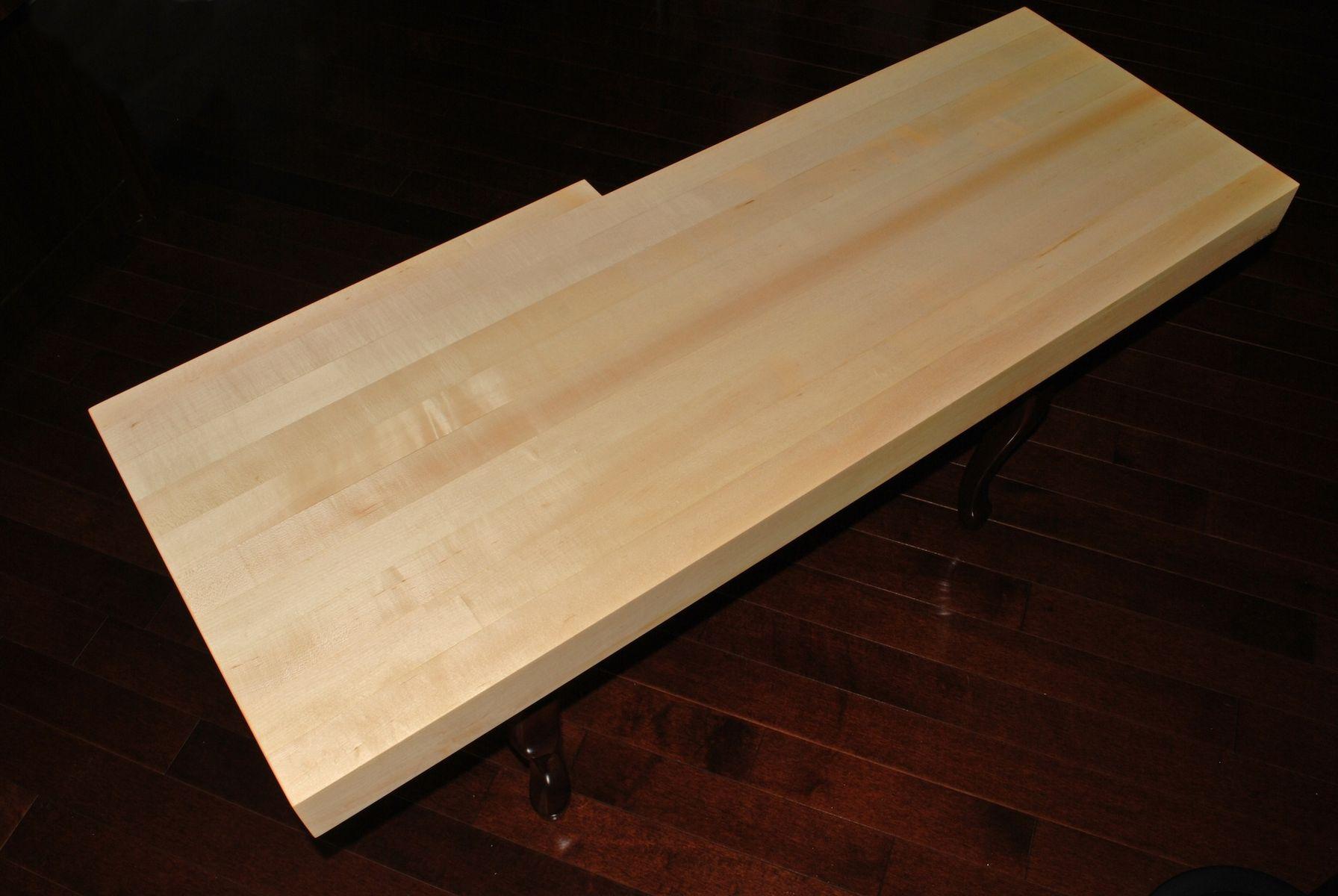 Custom Made Butcher Block Countertop