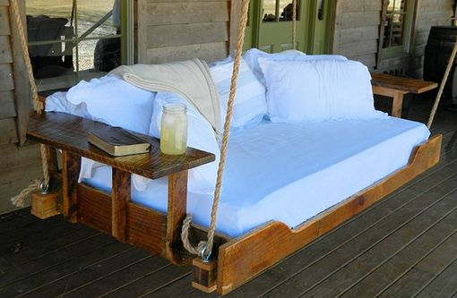 Buy A Custom Made R Amp R Hanging Daybed Porch Swing Made To