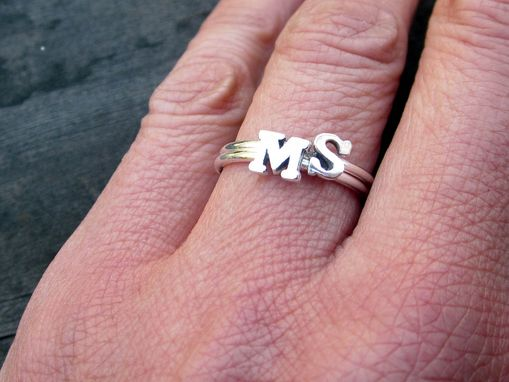 Custom Made Stacking Rings In Sterling Silver